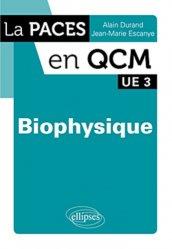 Souvent acheté avec Biostatistique et probabilités, le Biophysique