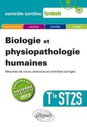 Dernières parutions dans Contrôle continu, Biologie et physiopathologie humaines - Terminale ST2S