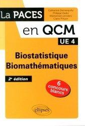 Souvent acheté avec Chimie organique, le Biostatistique, biomathématiques UE4