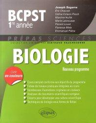 Souvent acheté avec Chimie 1ère année BCPST - VÉTO, le Biologie