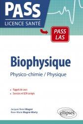Souvent acheté avec Biologie cellulaire et moléculaire, le Biophysique physico-chimie physique