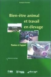 Souvent acheté avec Comportement et bien-être animal, le Bien-être animal et travail en élevage Textes à l'appui