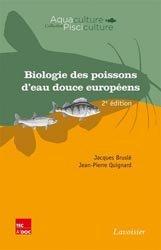 Dernières parutions sur Aquaculture - Pêche industrielle, Biologie des poissons d'eau douce européens