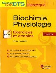 Souvent acheté avec Connaissance des aliments - Exercices et annales, le Biochimie-physiologie