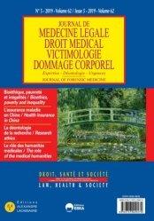 Dernières parutions sur Médecine légale, Bioéthique, pauvreté et inégalités-jml 5 vol 62-2019