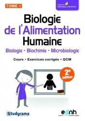 Dernières parutions sur BTS Diététique - Nutrition, Biologie de l'Alimentation Humaine