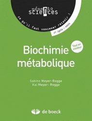 Dernières parutions sur UE1 Biochimie, Biochimie métabolique