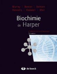 Souvent acheté avec Micronutrition et fibromyalgie, le Biochimie de Harper