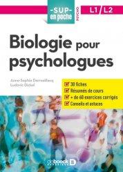 Dernières parutions dans Sup en poche, Biologie pour psychologues