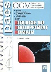 Souvent acheté avec Immunologie, le Biologie du développement humain UE2