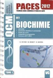 Souvent acheté avec Génétique et biotechnologie UE1, le Biochimie UE1 Tome1 chimie organique, chimie générale, biochimie,