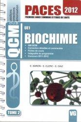 Souvent acheté avec Chimie en fiches et QCM UE1, le Biochimie UE1 Tome 2