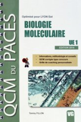 Souvent acheté avec Anatomie UE5 ( Lyon EST), le Biologie Moléculaire UE1 chimie organique, chimie générale, biochimie,