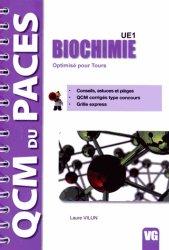 Dernières parutions dans QCM du PACES, Biochimie UE1 livre paces 2020, livre pcem 2020, anatomie paces, réussir la paces, prépa médecine, prépa paces