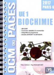 Dernières parutions dans QCM du PACES, Biochimie UE1 - Paris 6
