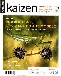 Dernières parutions dans Kaizen, Biomimétisme, le vivant comme modèle