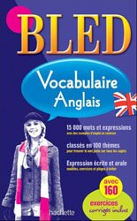 Dernières parutions sur Vocabulaire, BLED VOCABULAIRE ANGLAIS