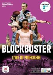 Dernières parutions sur 2de, Blockbuster 2de - livre du professeur