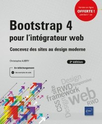 Dernières parutions dans Objectif Web, Bootstrap 4 pour l'intégrateur web