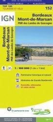 Dernières parutions sur Aquitaine, Bordeaux, Mont-de-Marsan, PNR des Landes de Gascogne. 1/100 000