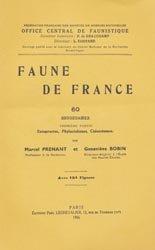 Dernières parutions dans Faune de France, Bryozoaires Première partie Entoproctes, Phylactolèmes, Cténostomes