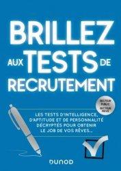 Dernières parutions sur Recherche d'emploi, Brillez aux tests de recrutement