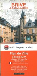 Dernières parutions dans Plan de ville, Brive-la-Gaillarde. 1/10 000, Edition 2019