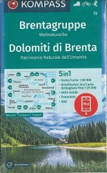 Dernières parutions sur Italie et Toscane, Brentagruppe Dolomiti di Brenta