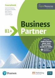 Dernières parutions sur Anglais spécialisé, Business Partner B1+