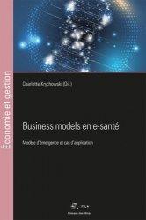 Dernières parutions dans Économie et gestion, Business models en e-santé