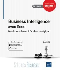 Dernières parutions sur Bureautique, Business Intelligence avec Excel