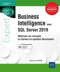Dernières parutions sur Développement d'applications, Business Intelligence avec SQL Server 2019