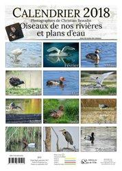 Calendrier 2018 Oiseaux de nos rivières et de nos plans d'eau