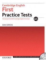 Dernières parutions sur Oxford University Press, Cambridge English First: Practice Tests