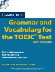 Dernières parutions sur TOEIC and TOEFL, Cambridge Grammar and Vocabulary for the TOEIC Test with Answers and Audio CDs (2)