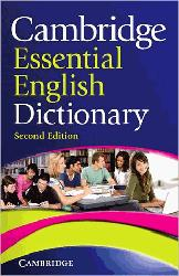 Dernières parutions sur Dictionaries, Cambridge Essential English Dictionary : Paperback