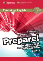 Dernières parutions dans Cambridge English Prepare!, Cambridge English Prepare! Level 4 - Teacher's Book with DVD and Teacher's Resources Online