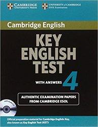 Dernières parutions dans Cambridge Key English Test 4, Cambridge Key English Test 4 - Self Study Pack