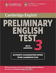 Dernières parutions dans Cambridge Preliminary English Test 3, Cambridge Preliminary English Test 3 - Student's Book with Answers Examination Papers from the University of Cambridge ESOL Examinations