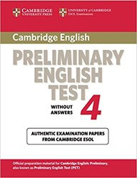 Dernières parutions dans Cambridge Preliminary English Test 4, Cambridge Preliminary English Test 4 - Student's Book without Answers Examination Papers from the University of Cambridge ESOL Examinations