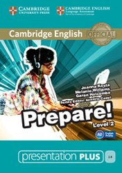 Dernières parutions dans Cambridge English Prepare!, Cambridge English Prepare! Level 2 - Presentation Plus DVD-ROM