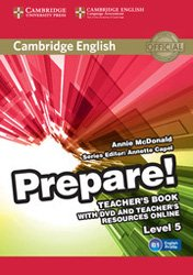 Dernières parutions dans Cambridge English Prepare!, Cambridge English Prepare! Level 5 - Teacher's Book with DVD and Teacher's Resources Online