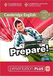 Dernières parutions dans Cambridge English Prepare!, Cambridge English Prepare! Level 5 - Presentation Plus DVD-ROM
