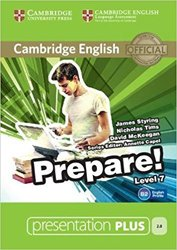 Dernières parutions dans Cambridge English Prepare!, Cambridge English Prepare! Level 7 - Presentation Plus DVD-ROM