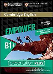 Dernières parutions sur Adult and Young Adult, Cambridge English Empower, Intermediate - Presentation Plus DVD-ROM (with Student's Book and Workbook)