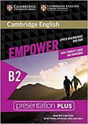 Dernières parutions sur Adult and Young Adult, Cambridge English Empower, Upper Intermediate - Presentation Plus DVD-ROM (with Student's Book and Workbook)