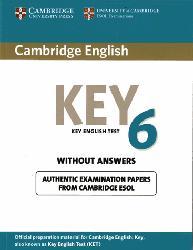 Dernières parutions sur Cambridge English Key and Key for Schools, Cambridge English Key 6 - Student's Book without Answers