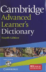 Nouvelle édition Cambridge Advanced Learner's Dictionary : Paperback with CD-ROM