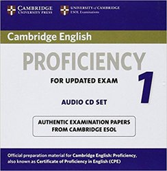 Dernières parutions sur CPE, Cambridge English Proficiency 1 for Updated Exam - Audio CDs (2) Authentic Examination Papers from Cambridge ESOL