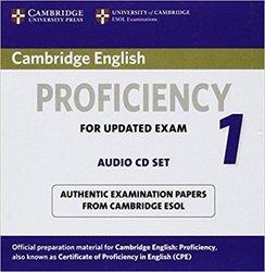 Dernières parutions dans Cambridge English Proficiency 1 for Updated Exam, Cambridge English Proficiency 1 for Updated Exam - Audio CDs (2) Authentic Examination Papers from Cambridge ESOL